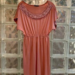 Soprano Coral Bohemian Style Dress. Size Large.